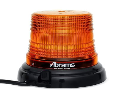 Orange 4 Inch LED Dome Light
