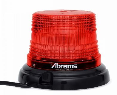 Red 4 Inch LED Dome Light