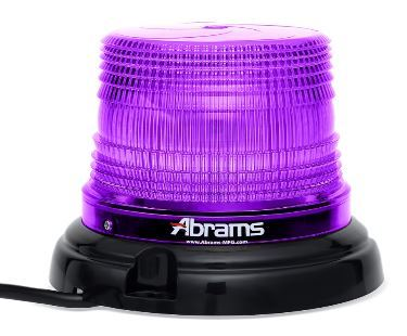 Purple 4 Inch LED Dome Light