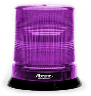 Purple 7 Inch LED Dome Light