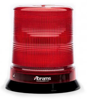 Red 7 Inch LED Dome Light